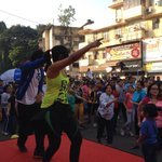 And the fun has begun!Come n learn how to be a Baby Doll with the hot choreographers Uma Gaiti #bandra #EqualStreets http://t.co/MIBYKNrFip