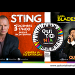 "#STING & #RUBENBLADES en CONCIERTO ""Festival #QUITONIA"" 3 de Dic. #QUITO Parque Bicentenario #ENTRADAS GRATIS http://t.co/gFxCA4Gcn2"