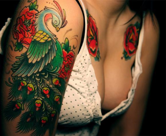 Самые красивые тату в мире для женщин