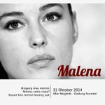 #event | Hari ini Bada Maghrib, #nobarYK12 @nontonYK film MALENA di @SocietetTBY. dftr-mention ke @oktavianadyah http://t.co/UZkxWhY8O0