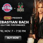 November 7 LIVE in Detroit Bach City @DetroitPistons Halftime Show! @101wrif @screamin1 http://t.co/zaqUdJShAl