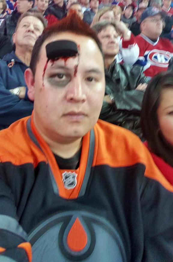 More Hockey Halloween Oddness, Preferably For Charity