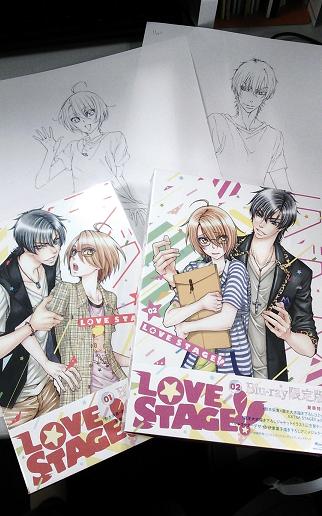 BD&DVD第1巻好評発売中、第2巻はもうすぐ発売ですよ!ということで宣伝用に写真をパチリ!…あっ、写真に準備中