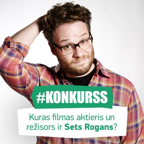 Atbildi pareizi uz jautājumu un laimē ielūgumu divām personām uz Seta Rogana režisēto filmu! #Konkurss RT http://t.co/5985lUas6c