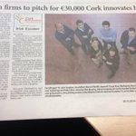 RT @SiobhanMFinn: RT @Corkinnovates: Lovely article in the recent @irishexaminer County on our seven finalists #cibursary14 http://t.co/Fymh6IxEZt