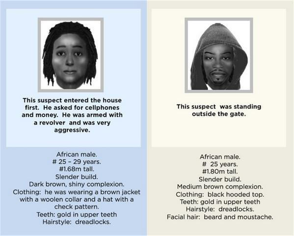 More info on suspects in #SenzoMeyiwa's case - clothes, facial composition, hairstyles etc http://t.co/nuZxCfIDab http://t.co/CGkUAB5Rcp