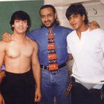 RT @BollywoodF: Rare picture of Shah Rukh Khan pants down, Aamir Khan shirtless while Badman Gulshan Grover stands clueless