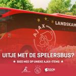 Een dagje uit met de spelersbus van #Ajax? Check deze veiling: http://t.co/SXoJUHR7Nt. #als1team http://t.co/iwVcCUWtPj