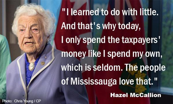 Hurricane Hazel retires as mayor of Mississauga at 93, but says she won't slow down http://t.co/4iQhYonZqe http://t.co/gzvfqD1f9G