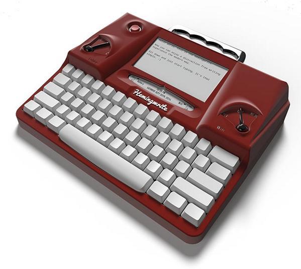 digitaldrops (@digitaldrops): As máquinas de escrever estão de volta? Não, mas a Hemingwrite é linda! http://t.co/Y2TMN7yDTl http://t.co/qF9utdnkGg