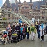 Welcome! RT @CitImmCanada: Newcomers learning history of #Toronto thru walking tour partnership with @heritagetoronto http://t.co/B1UNkWLEtV