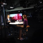 Getting ready to go on-air @BloombergWest with @CoryTV to talk about #DEMO2014 http://t.co/HvExn83L8X