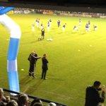 Frank de Boer en zijn assistent-trainer Spijkerman (oa ex-trainer Urk) wachten op wat #urkaja zal brengen. #Ajax
