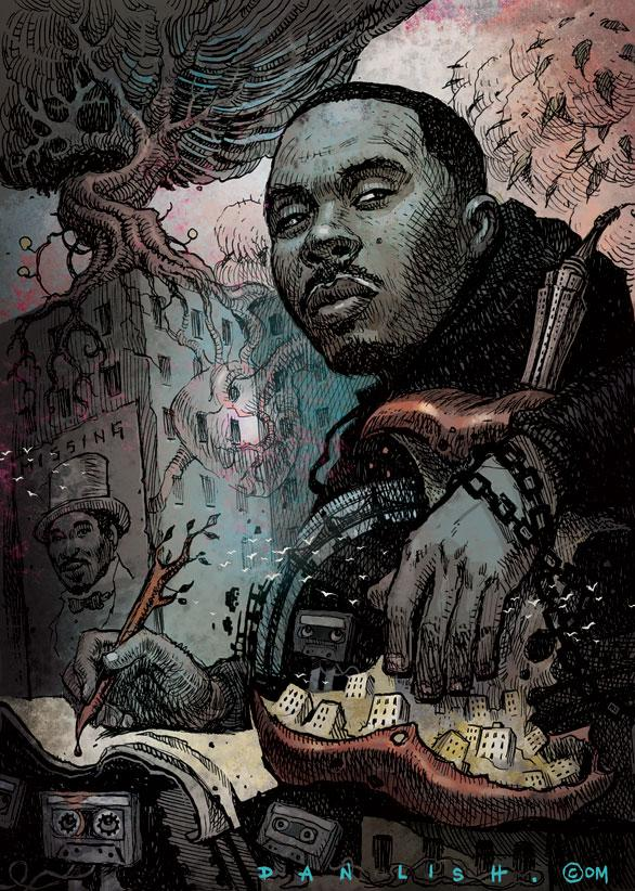 Nas colour action! @Nas @HipHopGoldenAge @Wordplaymag @QueensbridgeRap @madina_design http://t.co/wj6KQ5FMUB
