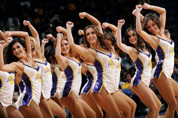 Opening night is finally here! We can't wait to hit the court and officially get this season started! #GoLakers http://t.co/9luJKnnAuJ