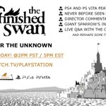 The Unfinished Swan comes to PS4 & Vita today! Watch a PS4 stream with the devs at 2pm PT: http://t.co/C44WihyxQF http://t.co/Z2sw6NetJu