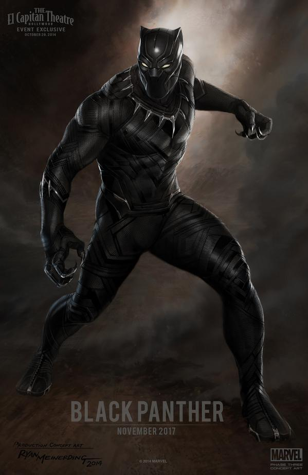Here's AMAZING concept art for #BlackPanther! #MarvelEvent http://t.co/xUC8hLmrSn