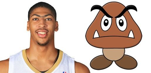 Anthony Davis has 12 points, 9 rebounds, 4 blocks, and probably killed Mario 47 times. http://t.co/UKjKj8q2XF
