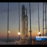 RT @NASA: We're 4 minutes from launching #Antares to @Space_Station. #Cygnus on internal power.  Watch: http://t.co/6hggfUYmIS