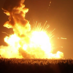 RT @ABC: WATCH: Unmanned Antares Rocket has exploded during launch: http://t.co/a4MD2NckoP http://t.co/dGQWLqodLN