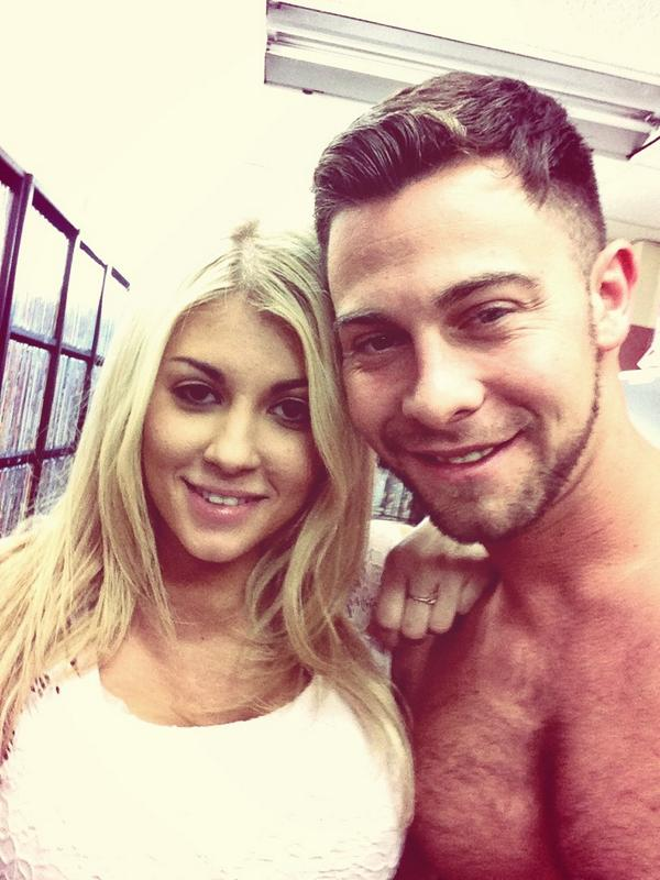 Seth Gamble (@SethGamblexxx): Great scene today for @bangrosporn with the beautiful @KaylaKaydenXXX #easyfunday http://t.co/tak5Zt4msf