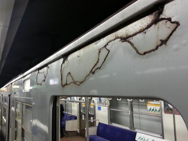 福岡地下鉄が、ハロウィン仕様過ぎてヤバイ。 http://t.co/s0TMgK5pcr