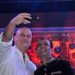 Jai Ho.:) @BrightOutdoor: A Selfie with a Legend!!!! Its pleasure having friend like you.!!!! #respectanupamkher http://t.co/HAtIYY0aTN