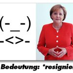 RT @LyndsayFarlow: Introducing the Angela Merkel emoticon  (-_-)  -<>-  http://t.co/eDJrpeR3lC https://t.co/w1rfN8rdJL via @thei100