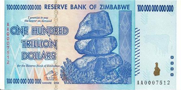 #TahuGakSih Mata uang dgn pecahan terbesar didunia adalah negara Zimbabwe, ini diakibatkan Inflasi yg sangat tinggi http://t.co/9g4CrmXwgv