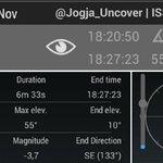 Saksikan Penampakan Satelite ISS Melintasi Jogja 1/11 pk 18.20 Selama 6 Menit *Syarat Langit Cerah http://t.co/ezpafsZzYa cc @Jogja24Jam