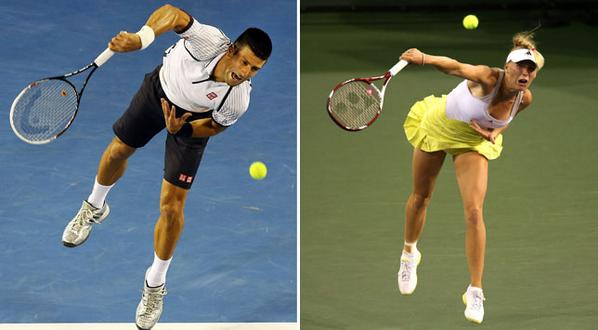 Look, @CaroWozniacki and @DjokerNole already synchronised ahead of @UAERoyals appearance for ITPL. A winning team? http://t.co/sh73cwSgIY
