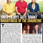 RT @TheShaukeens: In News: Youth enjoys cute, quirky naughtiness of #TheShaukeens.   Releasing on 7th November! http://t.co/QB31ng3szY