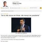 """""""Aécio, e se você não vencer em Minas Gerais?"""" (Fonte: @VEJA) http://t.co/4NNE7zd7XJ"""