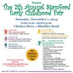 Join @uwwesternct and SECC for the 7th Annual Stamford Early Childhood Fair at @ChelseaPiersCT on 11/1, 9am-12pm. http://t.co/VnQo0vswZC