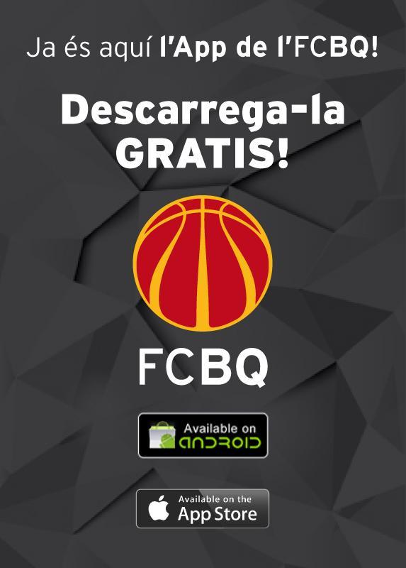 FCBQ (@FCBQ): Ja disponible l'APLICACIÓ OFICIAL i GRATUÏTA del #BàsquetCatalà amb el suport de @regalseguros http://t.co/pX5ArMYBdI http://t.co/g2eaUdVqSl