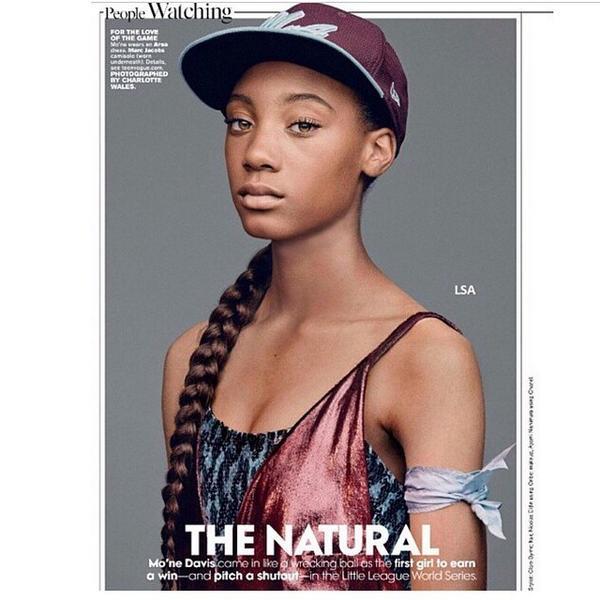 Mo'ne Davis shines bright in #TeenVogue. #Representation http://t.co/VeipLb5oTh http://t.co/6wg7GRJwJO