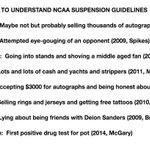 UPDATED NCAA SUSPENSION GUIDELINES http://t.co/nSZozuxMtz