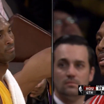 """RT @GAFollowers: Kobe calls Dwight Howard """"soft"""" during altercation. (VIDEO) http://t.co/hzBuUJ1a01 http://t.co/oo7HkFdVkR"""