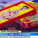 """UPDATE: Creator of """"Operation"""" board game to receive funding for real surgery. http://t.co/Dx4D6bYlUI http://t.co/ZDTSSYh7IA"""