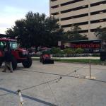 """ @Mahindra_USA Regional Dealers Meeting in San Antonio, TX this morning! #MahindraTuff"