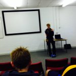 Attendees on our Be A Pro day are now listening to a talk from Bradford Bulls star @adamob93 http://t.co/DdjfOEYJ6K
