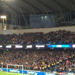RT @FBAwayDays: 3,000 Newcastle fans at Manchester City tonight. #nufc http://t.co/PUKFhD7QC8