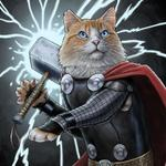 At Marvel, we take #NationalCatDay VERY seriously. http://t.co/ZNMHvKPJiv