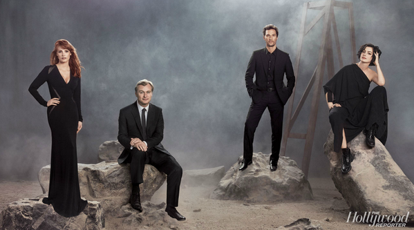 VIDEO: Watch THR's full Interstellar discussion with Christopher Nolan, @McConaughey & stars