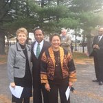 Joining Senator @MargaretRHenry at the Dedication ceremony for the National Marker at the Riverview Cemetery #wilmde http://t.co/m2KXNyh2VU