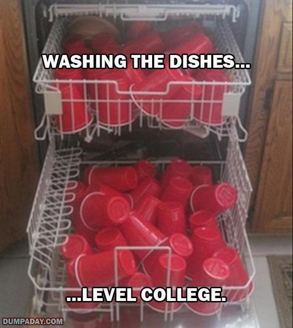 Washing the dishes. Level: College http://t.co/bDblSUGSVY