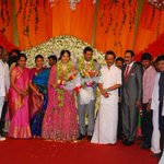 RT @umeshjiiva: @Udhaystalin Attended PMK Party Leader Mr. Ramadoss 's Grand Daughter Wedding Reception This Evening !! http://t.co/Lct7Z9z…