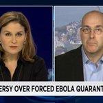 """Mandatory quarantines do not work."" @DocEdH w/ @HalaGorani on @cnni: http://t.co/PaFD6TPsTK #Ebola http://t.co/8nk9oy9VeO"