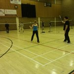 RT @BE_North: No Strings Badminton underway @The Dolphin Centre Darlington. Smiles and friendly competition all round! @HealthyDton http://t.co/sknIleLlAl