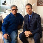 RT @markhymanmd: Great convo @DeepakChopra for One World @fxmed #microbiome #food as medicine & chronic disease http://t.co/NEEDM7kdx5